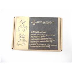 DIAMOND HEAD BACK UP SIGHTS IN BOX