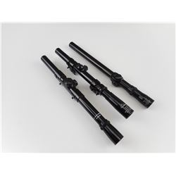ASSORTED SCOPES FOR PELLET OR 22 RIFLES