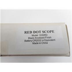 RED DOT SCOPE MODEL 1X30RD IN BOX