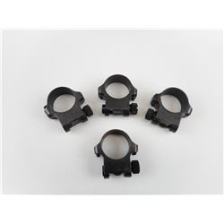 "RUGER 1"" SCOPE RINGS"