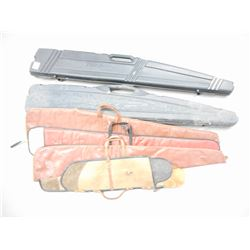 ASSORTED HARD AND SOFT RIFLE CASES