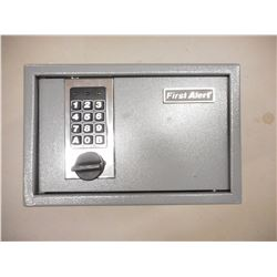 FIRST ALERT SAFE, WITH CODE AND KEY.