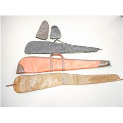 ASSORTED SOFT HAND GUN AND RIFLE CASES