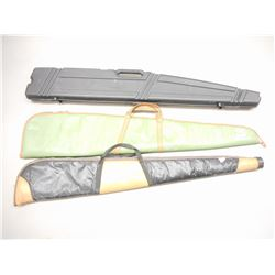ASSORTED SOFT AND HARD RIFLE CASES