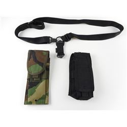 ASSORTED SINGLE POINT SLING & POUCHES