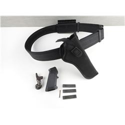 UNCLE MIKE'S HOLSTER BELT AND HAND GRIPS