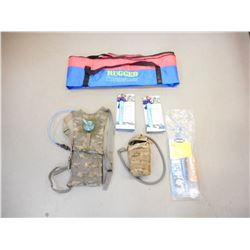 ASSORTED CAMPING ACCESSORIES