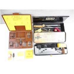 ASSORTED GUN CLEANING KITS