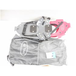 PAIR OF ALL TRAIL SNOWSHOES IN ALL TRAIL MESH BAG