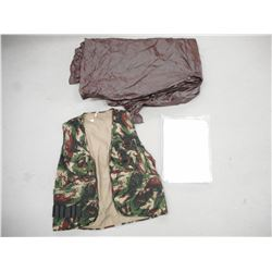 ASSORTED CAMOUFLAGE ITEMS