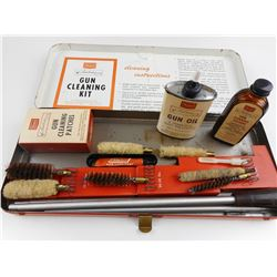 VINTAGE TED WILLIAMS SEARS GUN CLEANING KIT
