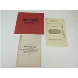 ASSORTED REMINGTON CATALOGS