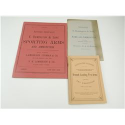 ASSORTED REMINGTON FIRE ARMS CATALOGS