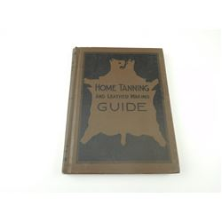 HOME TANNING & LEATHER MAKING GUIDE