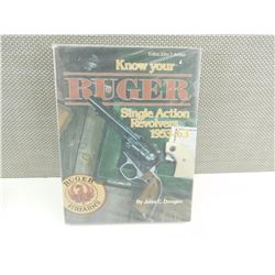 KNOW YOUR RUGER SINGLE ACTION REVOLVERS 1953-63