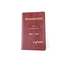 WINCHESTER DATES OF MANUFACTURE 1849-1984