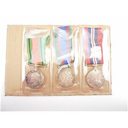 ASSORTED WWII CANADIAN MEDALS