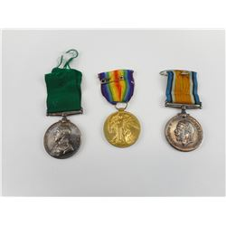 WWI MEDALS AWARDED TO A.S ANDERSON
