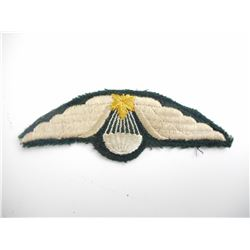 CANADIAN ARMY PARACHUTE QUALIFICATION WINGS