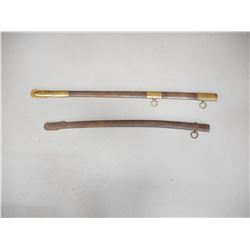 ASSORTED SWORD SCABBARDS