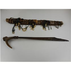 ELABORATE SOUTHERN ISLANDS SWORD WITH SHEATH