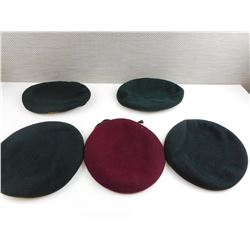 ASSORTED MILITARY BERETS