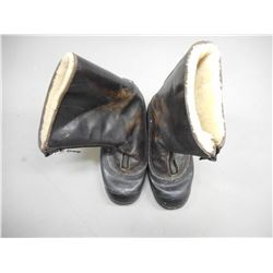 KAUFMAN RUBBER AND LEATHER FLIGHT TYPE BOOTS