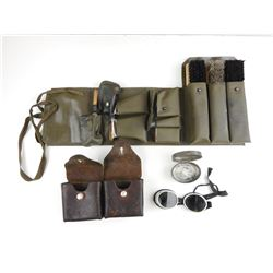SWISS HOUSEWIFE, GOGGLES AND AMMO POUCH