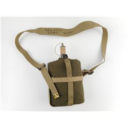 WWII OR POST WAR CANTEEN AND CARRIER
