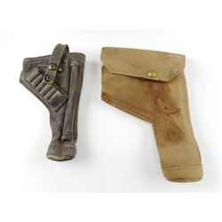 WWII BRITISH ENFIELD REVOLVER HOLSTERS