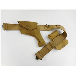 WWII CANADIAN/BRITISH HOLSTER AND BELT