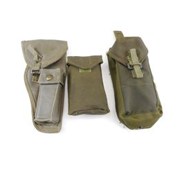 BROWNING HIGHPOWER HOLSTER AND MAGAZINE POUCHES
