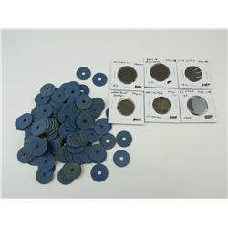 ASSORTED COINS AND WWII RATION TICKETS