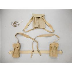 ASSORTED CANADIAN/BRITISH MILITARY WEBBING