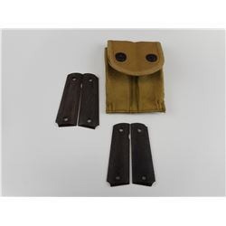 WWI AND WWII US 1911 POUCH AND GRIP