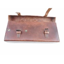 WWII 303 VICKERS LEATHER PARTS & ACCESSORIES POUCH