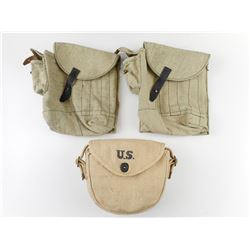 ASSORTED MILITARY TYPE AMMO POUCHES