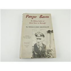 PANZER BARON: THE MILITARY EXPLOITS OF GENERAL HASSO VON MANTEUFFEL