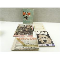 ASSORTED WWII GERMAN BOOKS