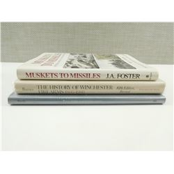 ASSORTED MILITARY WEAPON BOOKS