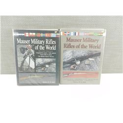MAUSER MILITARY RIFLES OF THE WORLD BOOKS