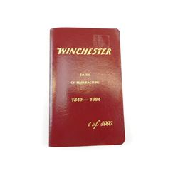 WINCHESTER DATES OF MANUFACTUR BOOKLET