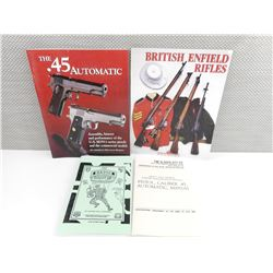 BRITISH ENFIELD RIFLE MAGAZINE AND PISTOL BOOKLETS