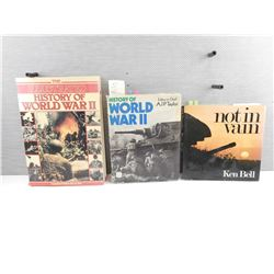 ASSORTED WORLD WAR II BOOKS