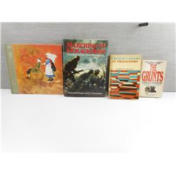 ASSORTED MILITARY TYPE BOOKS