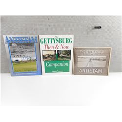 ASSOTRTED ANTIETAM SOFT COVER BOOKS