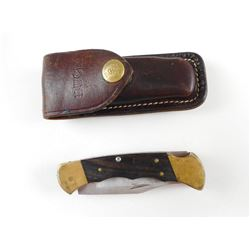 BUCK FLIP KNIFE WITH SHEATH