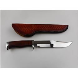 G. COTE BOWIE KNIFE WITH SHEATH