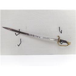 US 1850 PATTERN STAFF & FIELD OFFICER SWORD