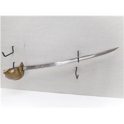 US 1860 PATTERN NAVAL TYPE CUTLASS SWORD